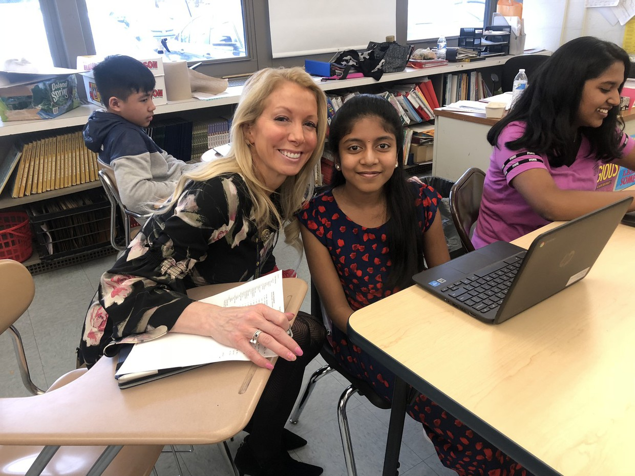 Shadowing an Extraordinary Ricci Middle School Student