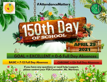 150th Day of School
