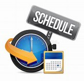 Dr. Kelly Schedule  (Calendar Invitations Will Be Provided)