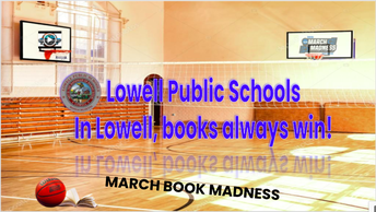 Lowell's March Book Madness Begins March 1st