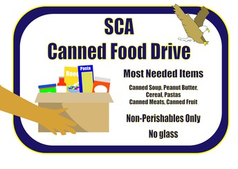 SCA Canned Food Drive