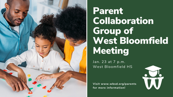 Jan. 23 WBSD Collaboration Group Meeting Information