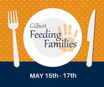 Gilbert Feeding Families Food Drive