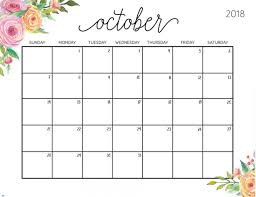 Dates to Remember for October