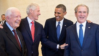 Four  former Presidents:  The transfer of power: A roundup of research on US presidential
