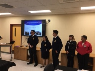 FFA Agriculture Students