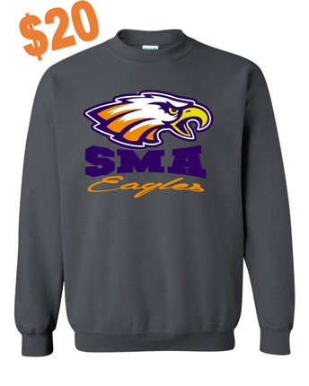 SMA Sweatshirts Now Available in STEM Office
