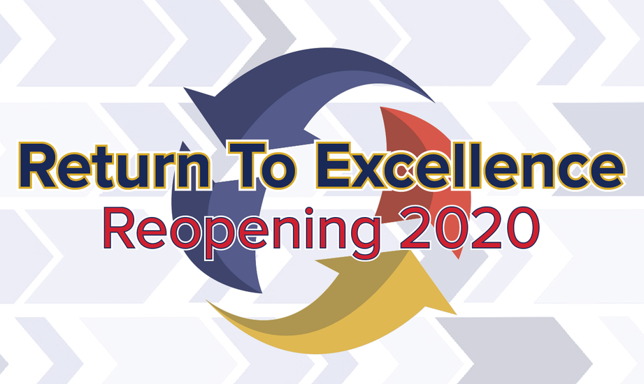 Return to Excellence plan