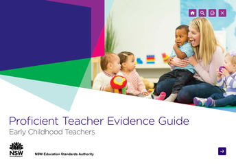NESA: Proficient Teacher Evidence Guide: Early Childhood Teachers