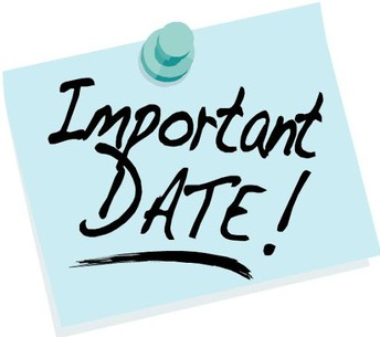 Important Dates / Fechas Importantes