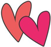 Visual perceptual skills activity - Valentine's Day themed