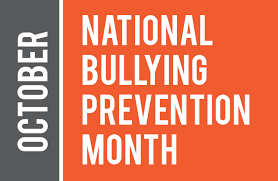 Dragons Go Blue October 5th: BULLYING PREVENTION AND AWARENESS MONTH