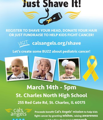 Cal's Angels Just Shave It!