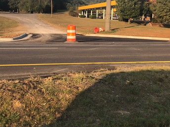 New Turning Lane!