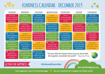 Do Good December Calendar