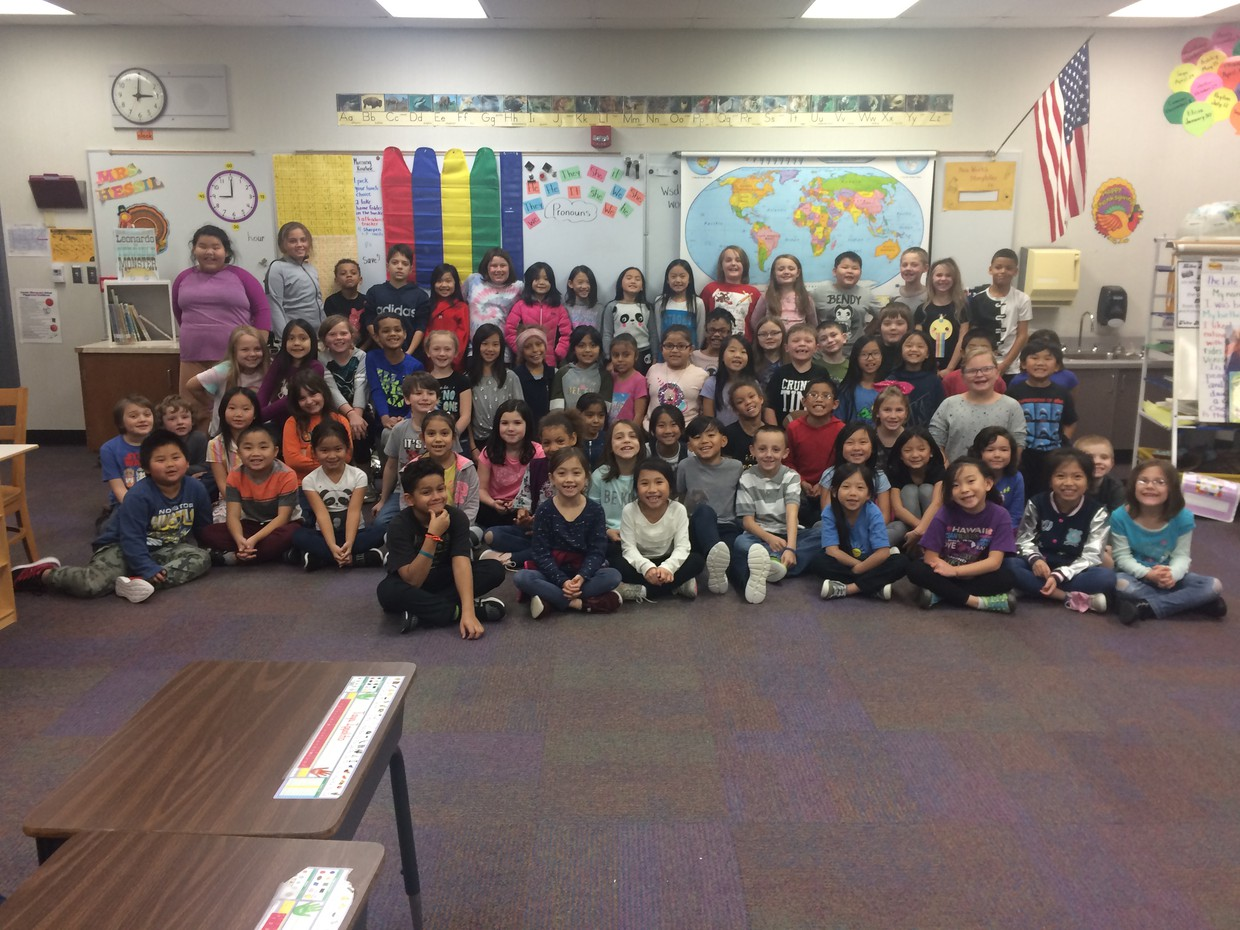 2nd and 3rd Grade Students