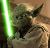 "Yoda, Jedi Master. ""Judge me by my size you do.  That is your first mistake!"""
