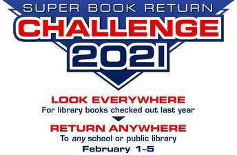 ¡Corley participa en el Super Desafío de Devolución de Libros!