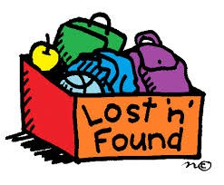 LOST & FOUND - PICK UP MISSING ITEMS BY NOON TOMORROW!