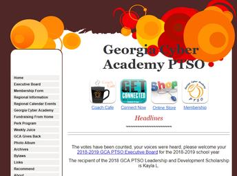 GCA PTSO Website