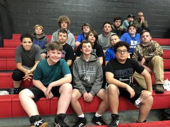 Wrestlers rock!