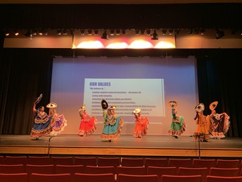 Celebrating diversity with Ballet Folklorico; Caldwell Youth Mariachi