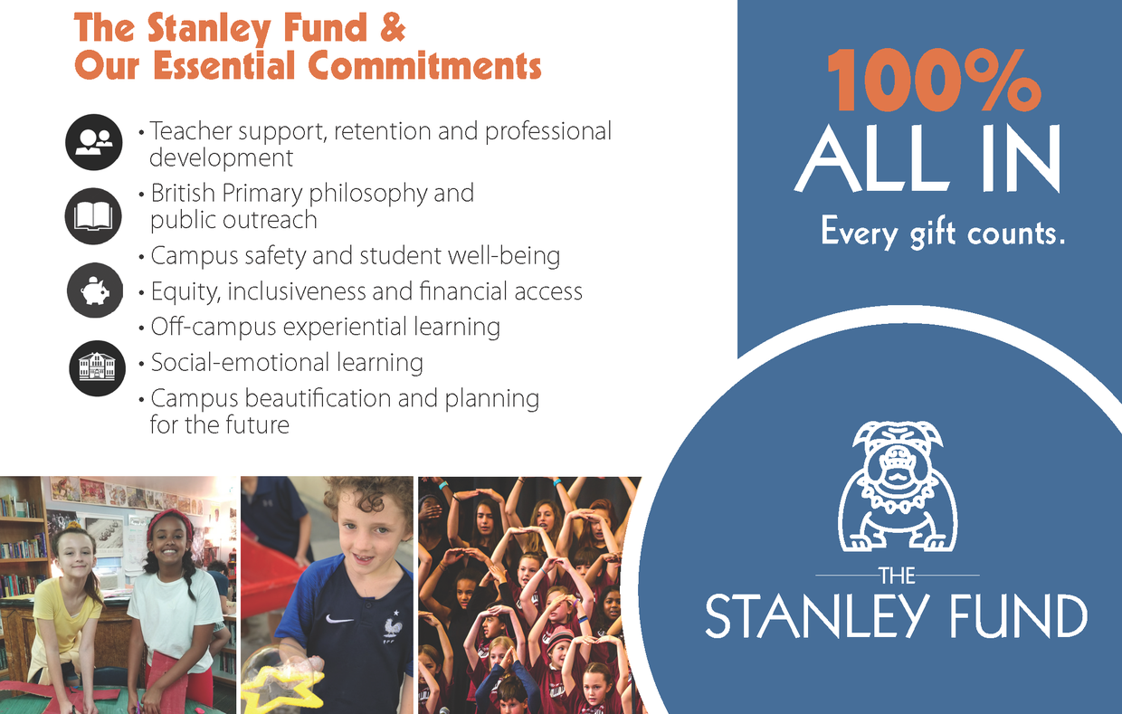 Preschedule your matched gift to Stanley for Colo Gives Day