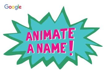 Animate a Name!
