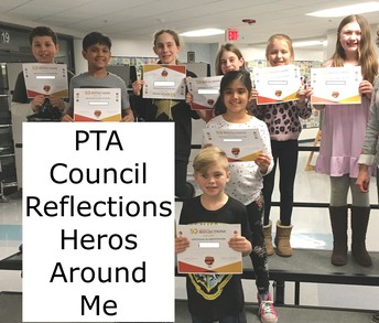 """Heros Around Me"" Reflections Art Program"