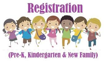 Pre K, Kindergarten & New Family Registration
