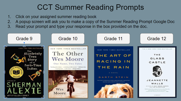 Summer Reading Prompt