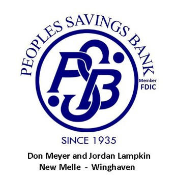 Peoples Savings Bank To Sponsor Football Entrance