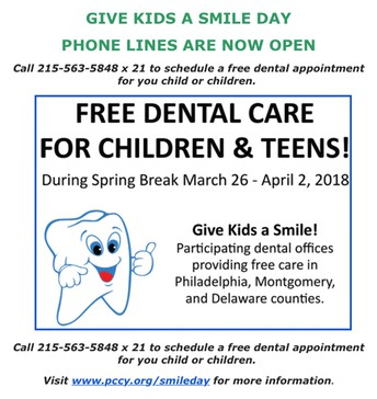 Free Dental Care For Children & Teens