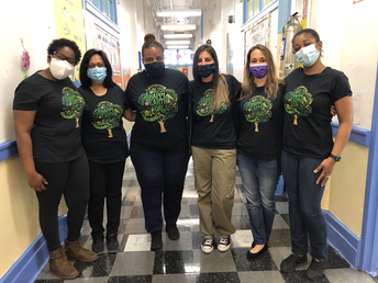 Staff Members Celebrating Earth Day