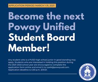 OPENING SOON: Student Board Member Application Period