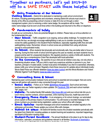 Back to School - Safety Tips