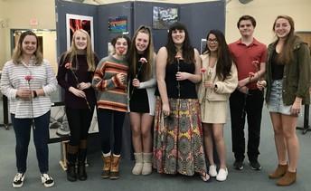 National Art Honor Society - New Members