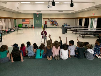 2nd Grade Students Attend Wizard of Oz Rehearsal & Meeting on 2/24
