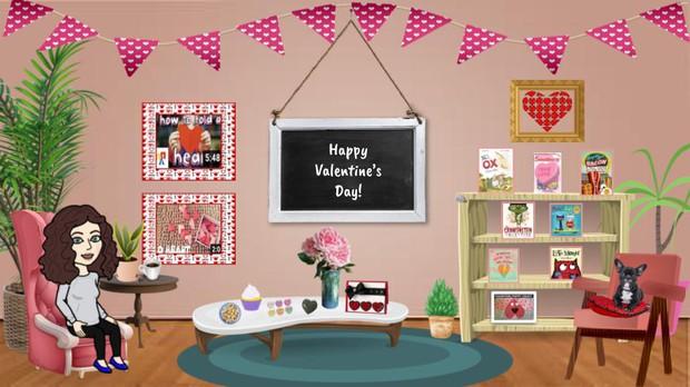 Valentine's Virtual Room