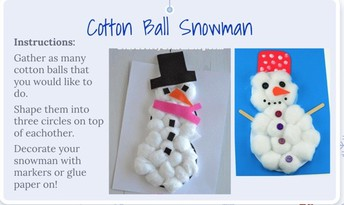 Baby it is cold outside, but creative inside!