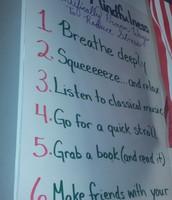 Tips to Reduce Stress @ Webb ECP