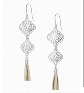 Plait Drop Earrings