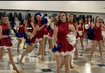 Dance Team Performance at Holiday Bizarre