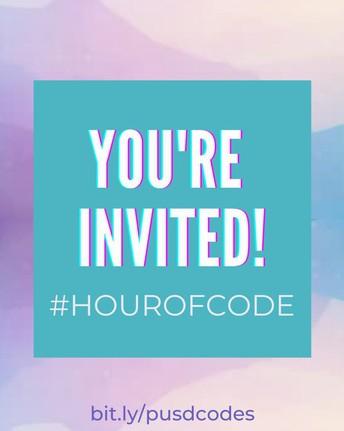 Computer Science Education Week and #HourofCode