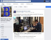Created BHS Library Facebook Page