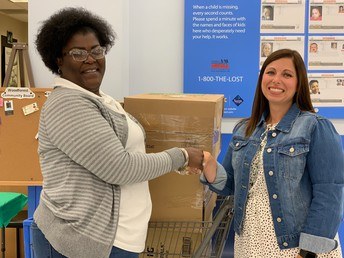 Walmart Donates School Supplies