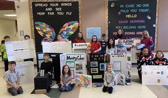 Great job Science Fair Participants!