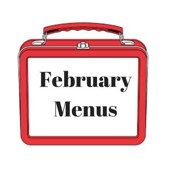 February Breakfast & Lunch Menus