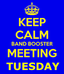 Band Booster Meeting