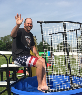Dunk Tank time for Mr. Lee